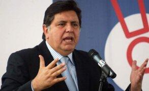 Erasmo Reyna: Alan García advirtió que no se estaba siguiendo debido proceso
