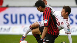Bundesliga: Frankfurt con Zambrano sacó un empate en su visita a Stuttgart