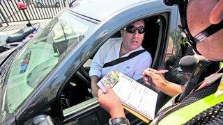 PNP: Piuranos cometen un promedio de 225 infracciones vehiculares por día