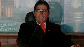 Congresista Urtecho no supo explicar la desaparición de 600 sillas de ruedas donadas