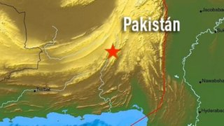 Fuerte terremoto de 7.8 grados en Pakistán deja 30 muertos