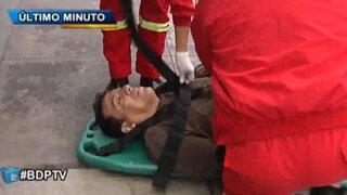 """Nueva víctima de las """"peperas"""" fue abandonado en calle de San Isidro"""