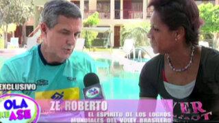 Entrenador de vóley de Brasil Ze Roberto contó el secreto de sus logros mundiales