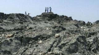 Pakistaníes ya exploran isla que emergió tras devastador terremoto