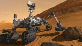 Robot Curiosity confirma presencia de agua en el suelo de Marte