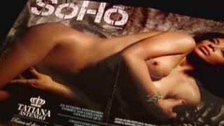 Fiesta de estrellas: Tatiana Astengo al desnudo