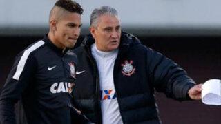 Corinthians se niega a que Guerrero vuelva a jugar por la selección peruana