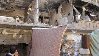 Siria: atentado en mezquita cercana a Damasco deja al menos 37 muertos