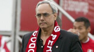 Bloque Deportivo: Manuel Burga asegura que apelará sanción de la FIFA
