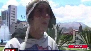 VIDEO: delincuentes roban a turistas colombianos que viajaban para visitar Cusco