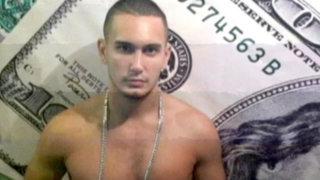 VIDEO: detienen al 'Califa', descendiente de Piérola es acusado de vender droga