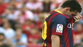 Confirmado: Messi perderá fecha eliminatoria y dos partidos de la Liga Española