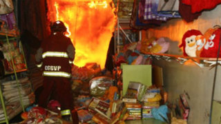 Comerciantes de galerías incendiadas en Centro de Lima no contarían con licencia
