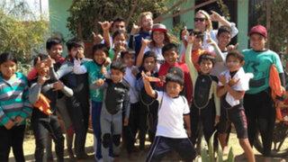 Sofía Mulanovich brindará taller de surf para niños de escasos recursos