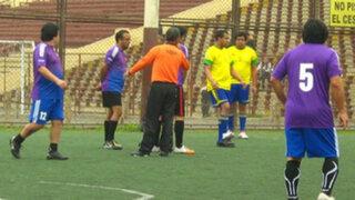 Trabajadores de Panamericana TV confraternizan en reñido campeonato de fútbol