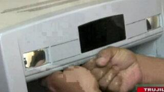 Trujillo: policía descubre cámaras ocultas en un cajero automático