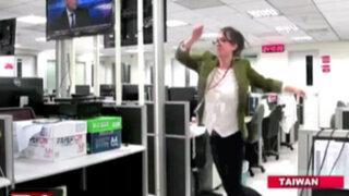 Taiwán: mujer que renuncia a su trabajo bailando es un éxito en Youtube