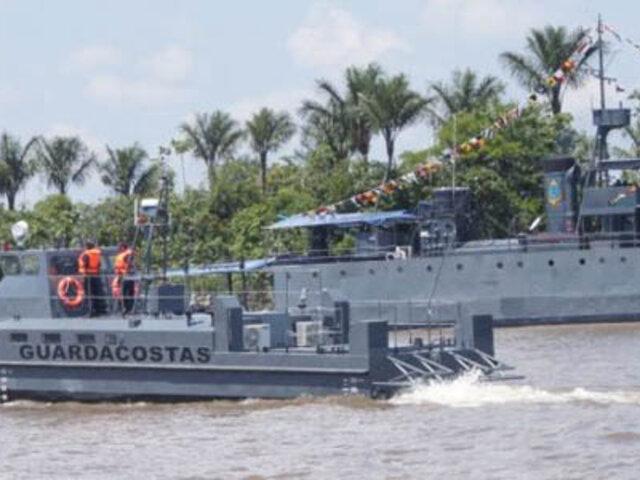 Autoridades intensifican operativos antidrogas en los ríos de Loreto