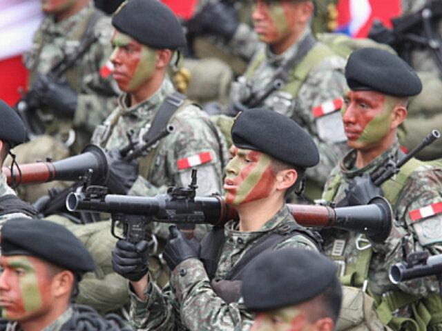 Fuerzas Armadas garantizarán orden en comicios internos de los partidos