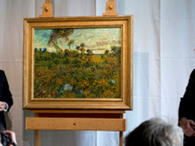 Museo de Amsterdam presenta pintura inédita de Vincent Van Gogh