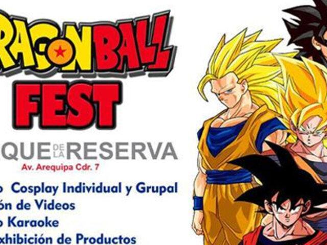 Gran expectativa por festival de Dragon Ball en el Parque de la Reserva