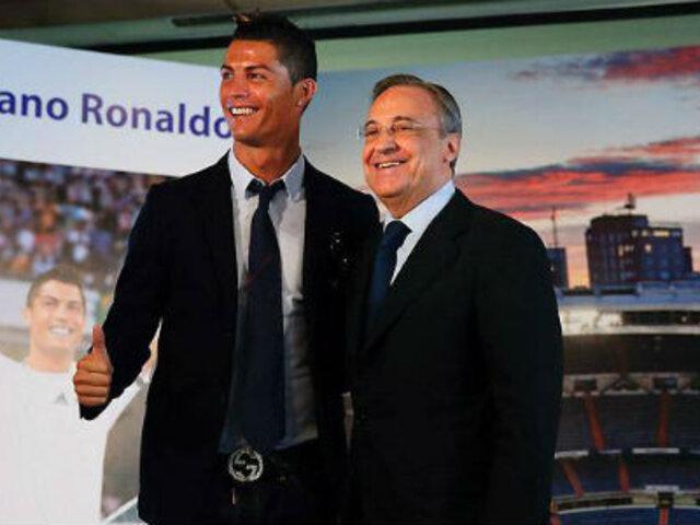 CR7 renovó con el Madrid y se convirtió en el futbolista mejor pagado del mundo