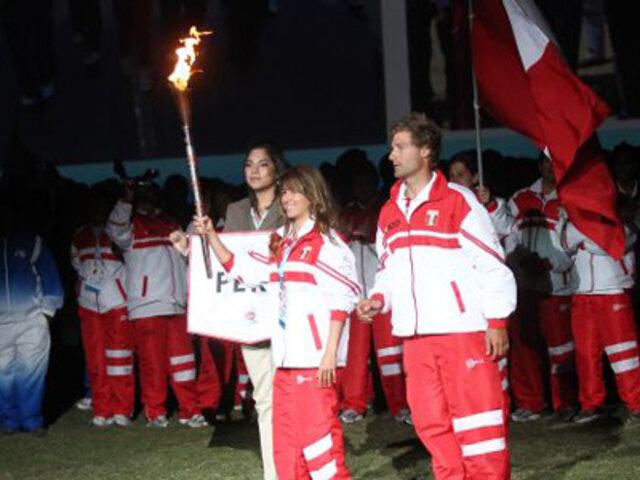 Humala inauguró Juegos Sudamericanos de la Juventud en la Plaza de Armas