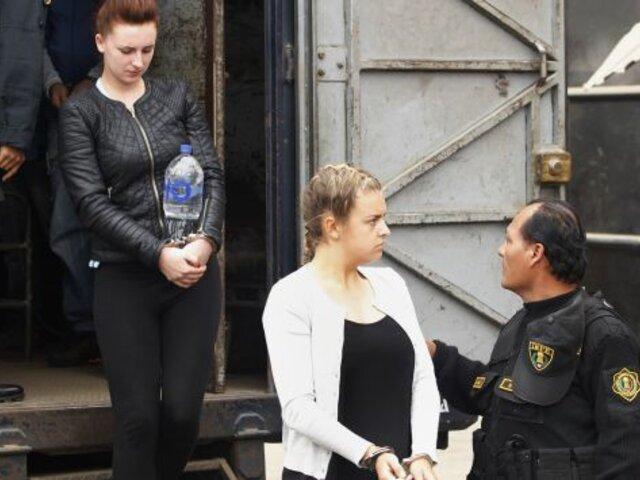 """""""Burriers"""" británicas se declararon culpables de tráfico ilícito de drogas"""