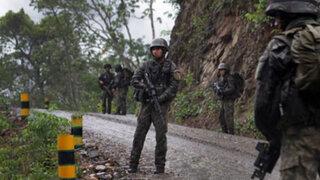 Vraem: capturan a 23 presuntos colaboradores de narcoterroristas