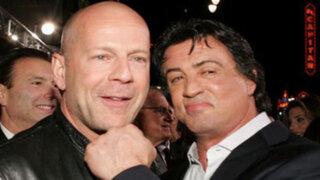 """Sylvester Stallone se disculpa con Bruce Willis por llamarlo """"vago y codicioso"""""""