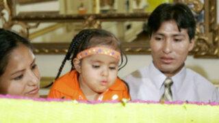 """Huancayo: así le dieron el último adiós a la """"niña sirenita"""""""