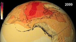 VIDEO: Nasa predice como será el mundo en el 2099 por cambios climáticos