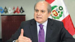 Pedro Cateriano: El que manda en el Ministerio de Defensa soy yo