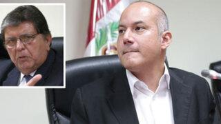 Megacomisión: García será citado por nuevos elementos en su contra