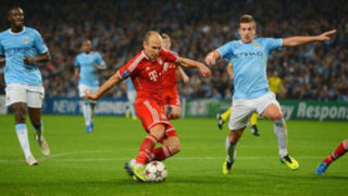Manchester City cayó 1-3 frente al Bayern Munich en Inglaterra