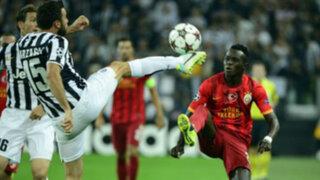 Juventus empató 2-2 con el Galatasaray por la Champions League