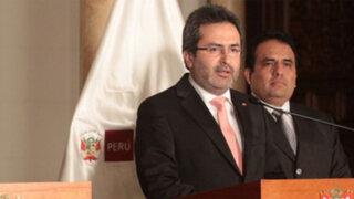 Premier Jiménez asegura que Gobierno no minimiza la inseguridad ciudadana