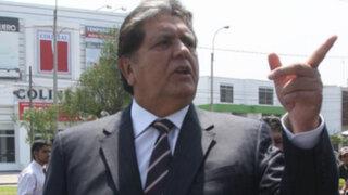 """Alan García: """"Humala está desesperado y se cree presidente de megacomisión"""""""
