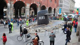 "Submarino que ""emerge"" de la tierra en Italia se vuelve viral en You Tube"