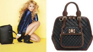 Cantante Paulina Rubio lanzó su exclusiva línea de bolsos y zapatos