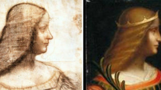 Descubren un retrato inédito de Isabel de Este pintado por Leonardo da Vinci