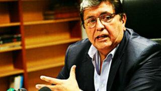 Poder Judicial rechaza pedido para suspender investigación a Alan García