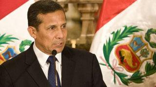 Presidente Humala: El crecimiento económico sin un fin social no sirve