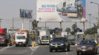 Peaje en Vía de Evitamiento hoy es gratis por momentos para evitar congestión