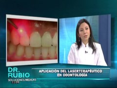Soluciones Médicas: odontóloga explica los beneficios del laserterapeútico