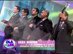 Agua Marina inicia la semana de Ola ke Ase con su tema 'Sirena del amor'