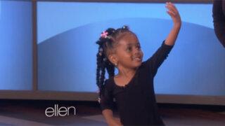 VIDEO: Niña de tres años realiza sorprendente imitación de Beyoncé
