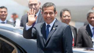 Ollanta Humala adelantó regreso desde la Cumbre APEC