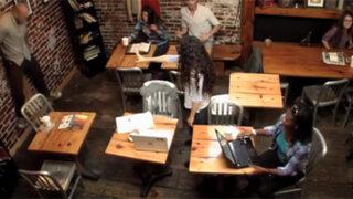 """Joven con """"poderes sobrenaturales"""" aterrorizó a clientes de una cafetería"""
