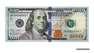 Estados Unidos lanza al mercado su nuevo billete de 100 dólares